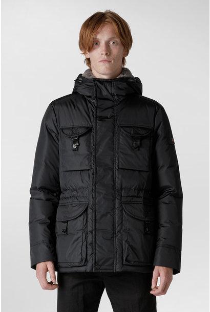 Field Jacket Fur Collar - Black
