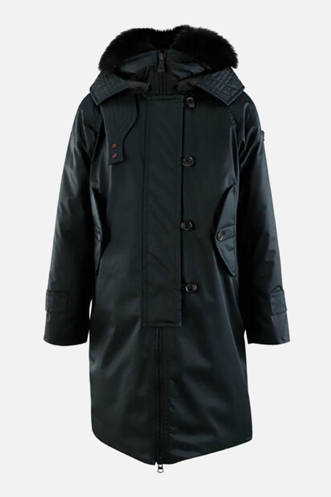 Long Coat - Black-1