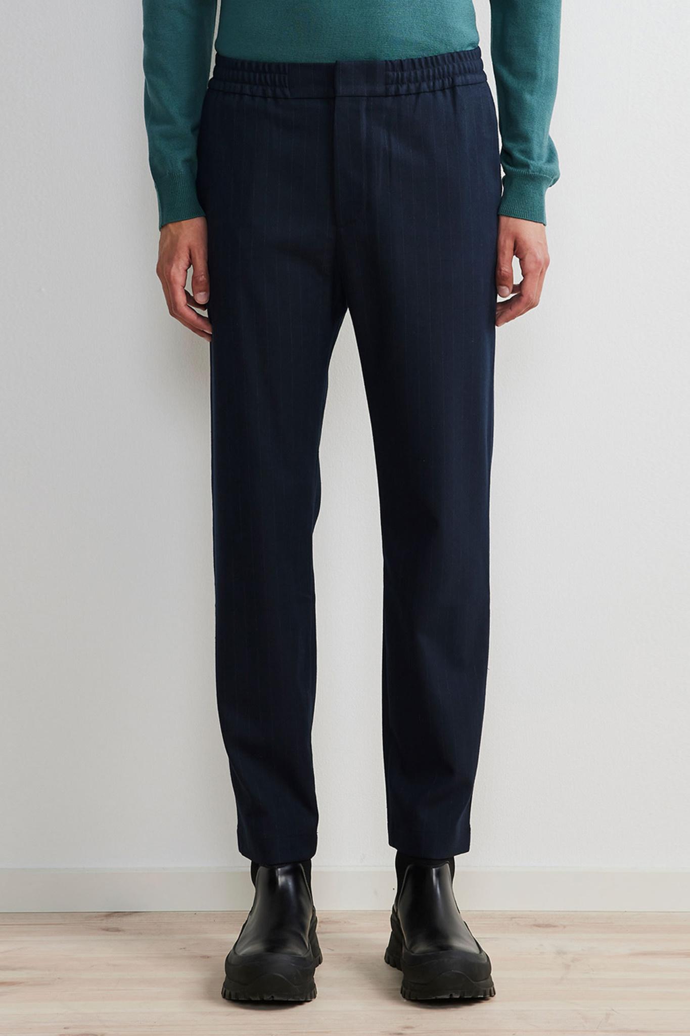 Foss Pants - Blue-1