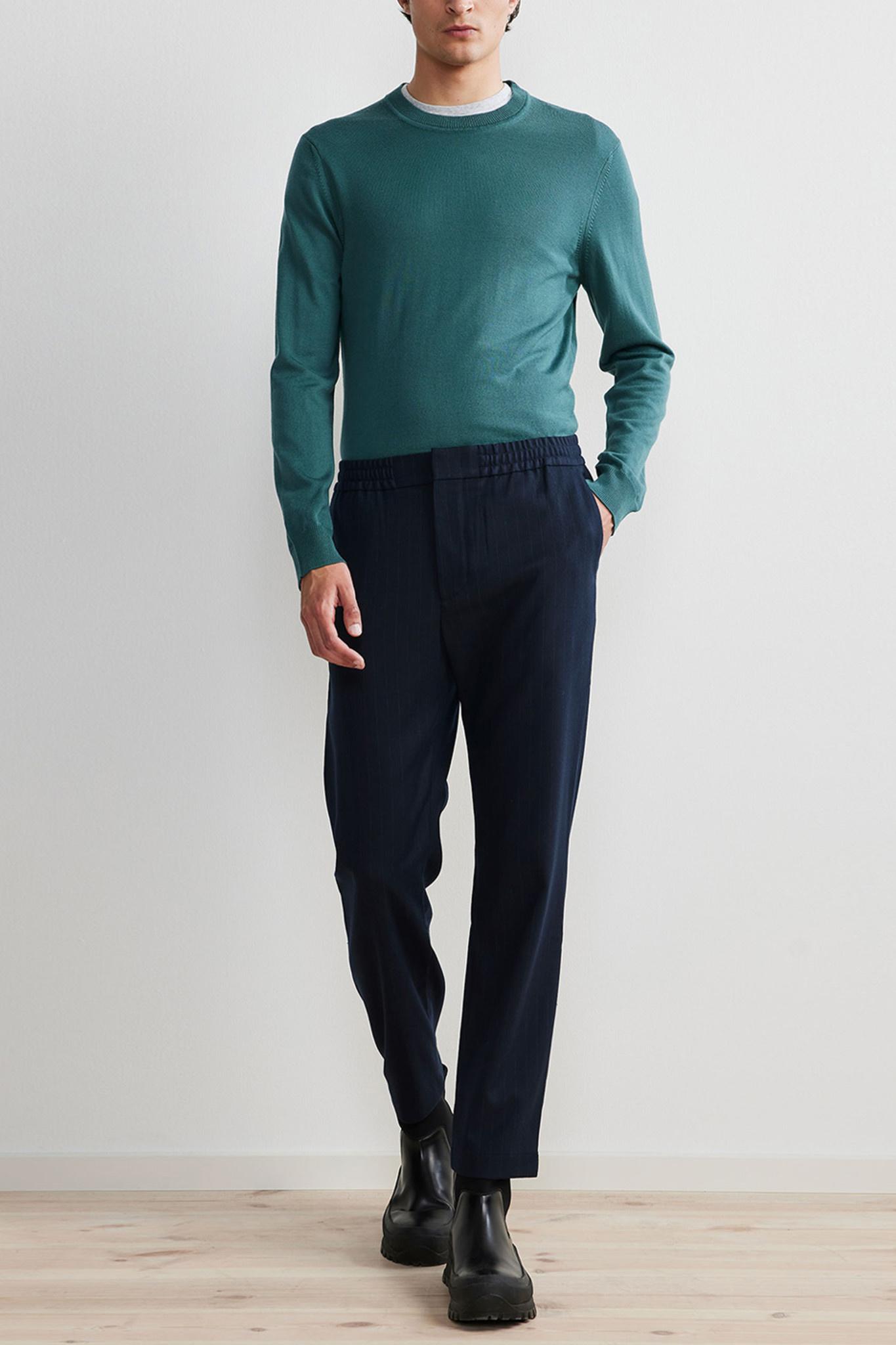 Foss Pants - Blue-2