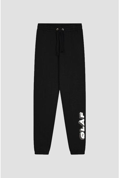 Triple Italic Sweatpants - Black