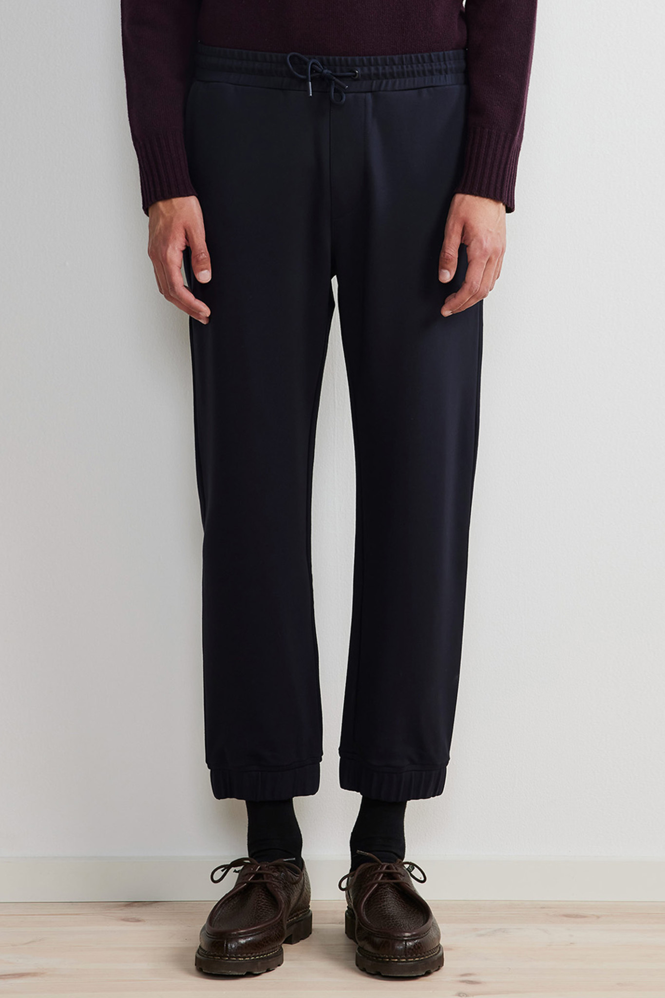 Fred Track Pant - Blue-1