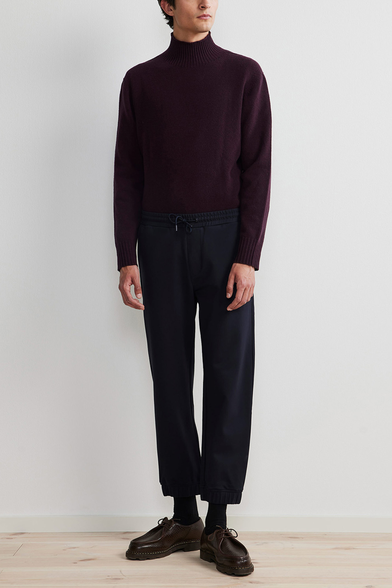 Fred Track Pant - Blue-2