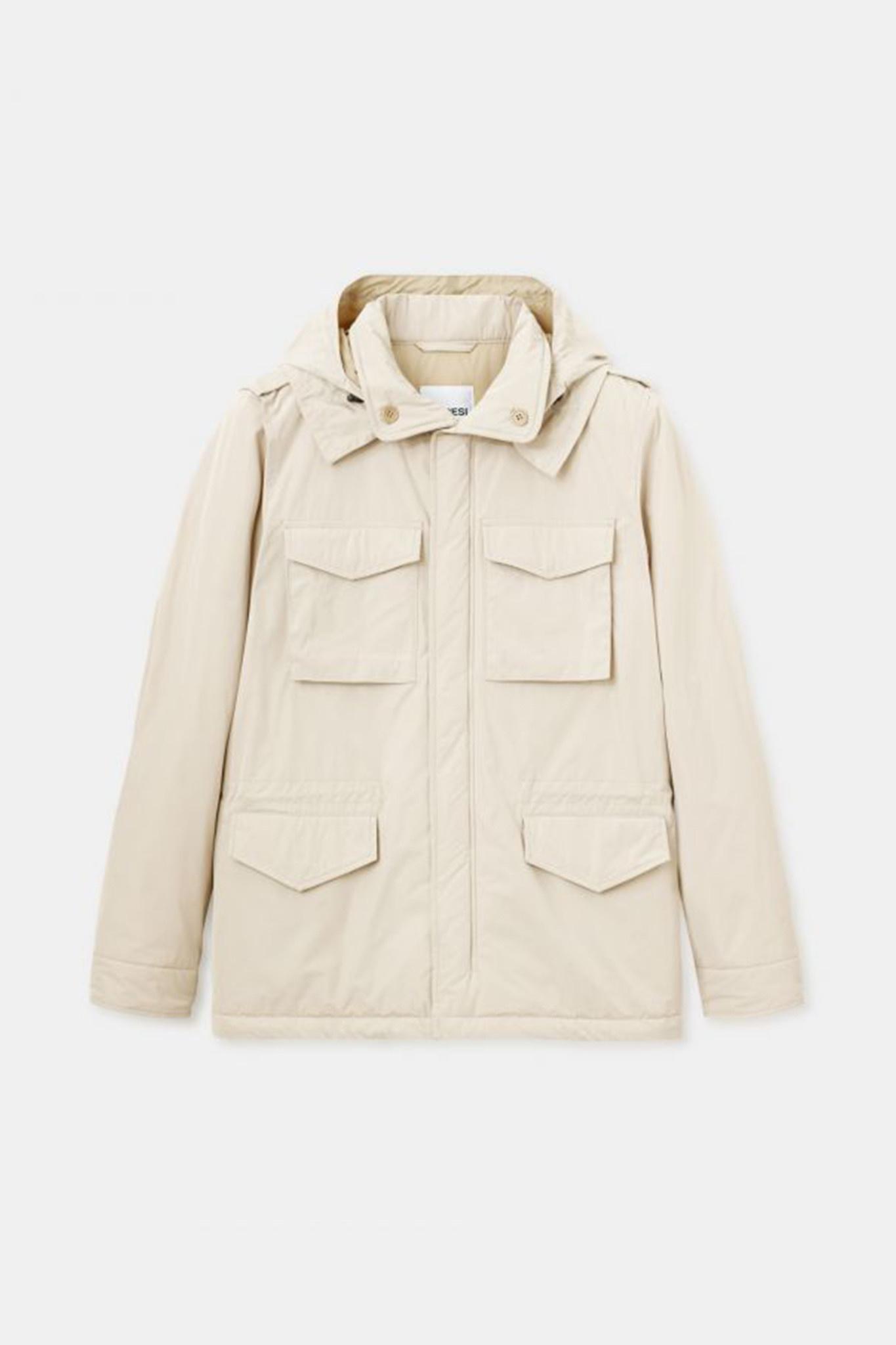 Mini Field Jacket - Cream-1