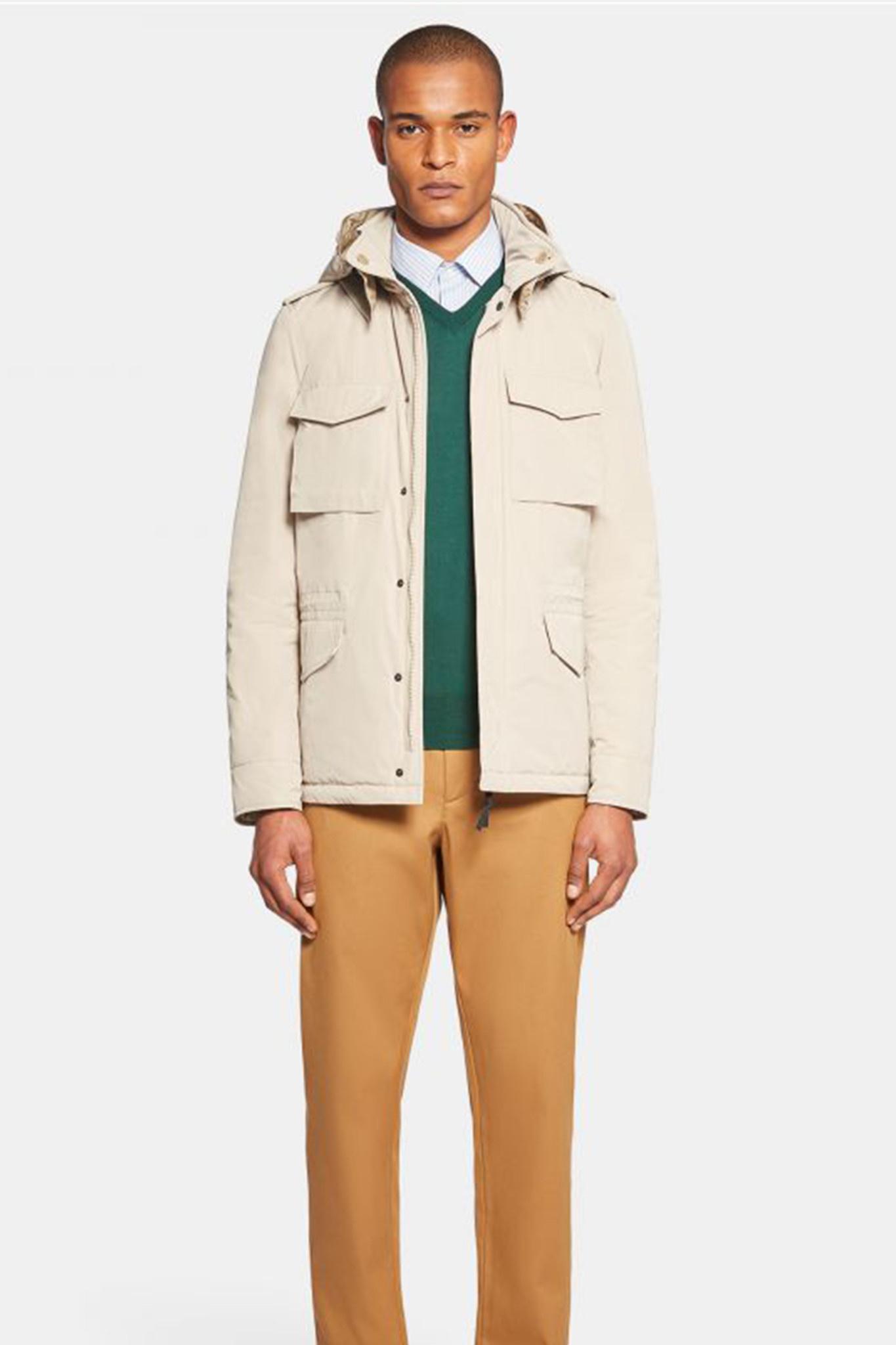 Mini Field Jacket - Cream-2