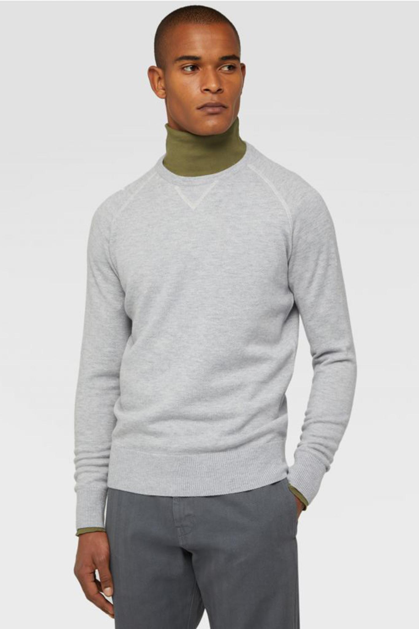 Merino Wool Sweater - Grey-2