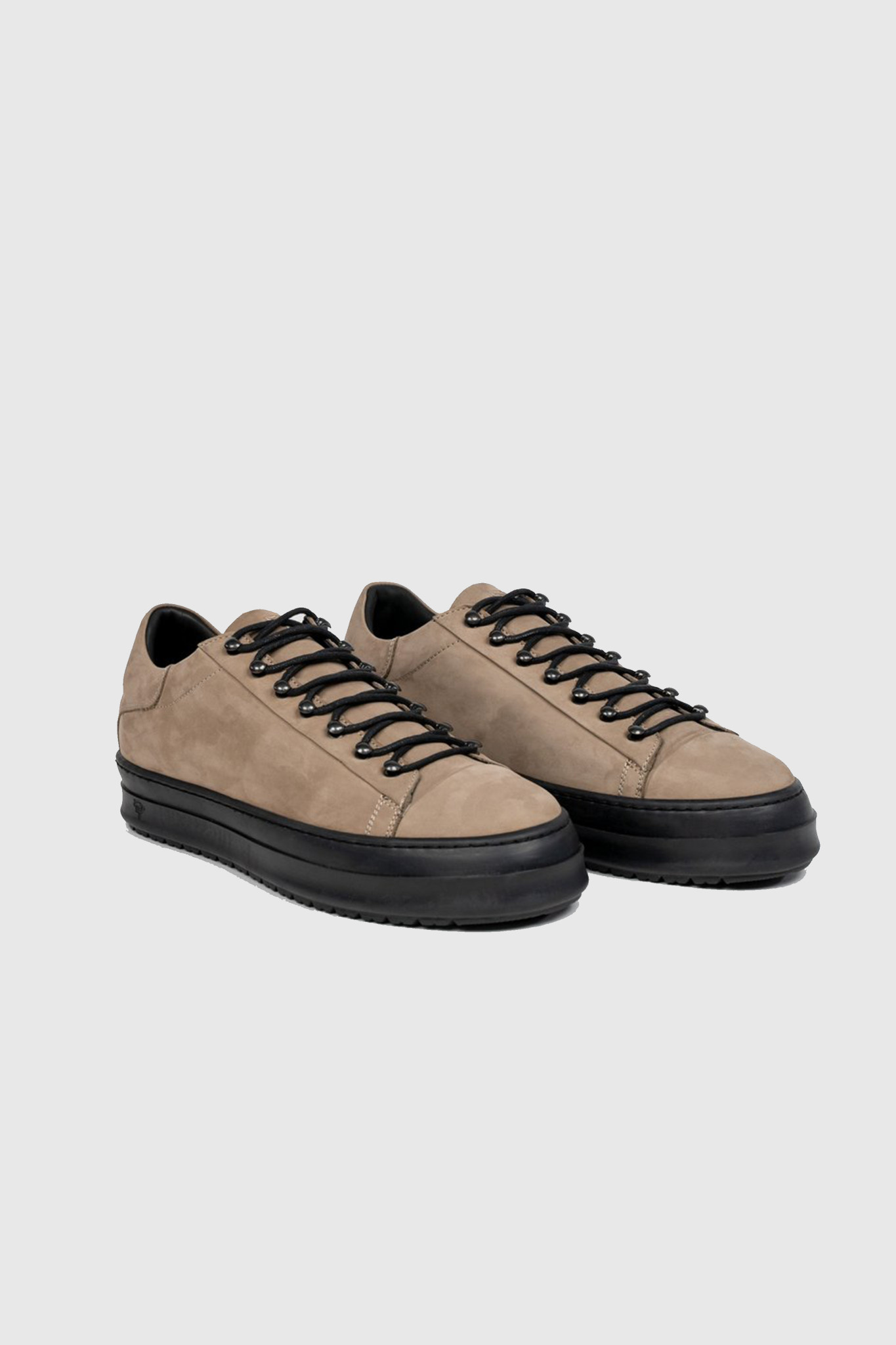 Icon Low Top - Rock Brown-1