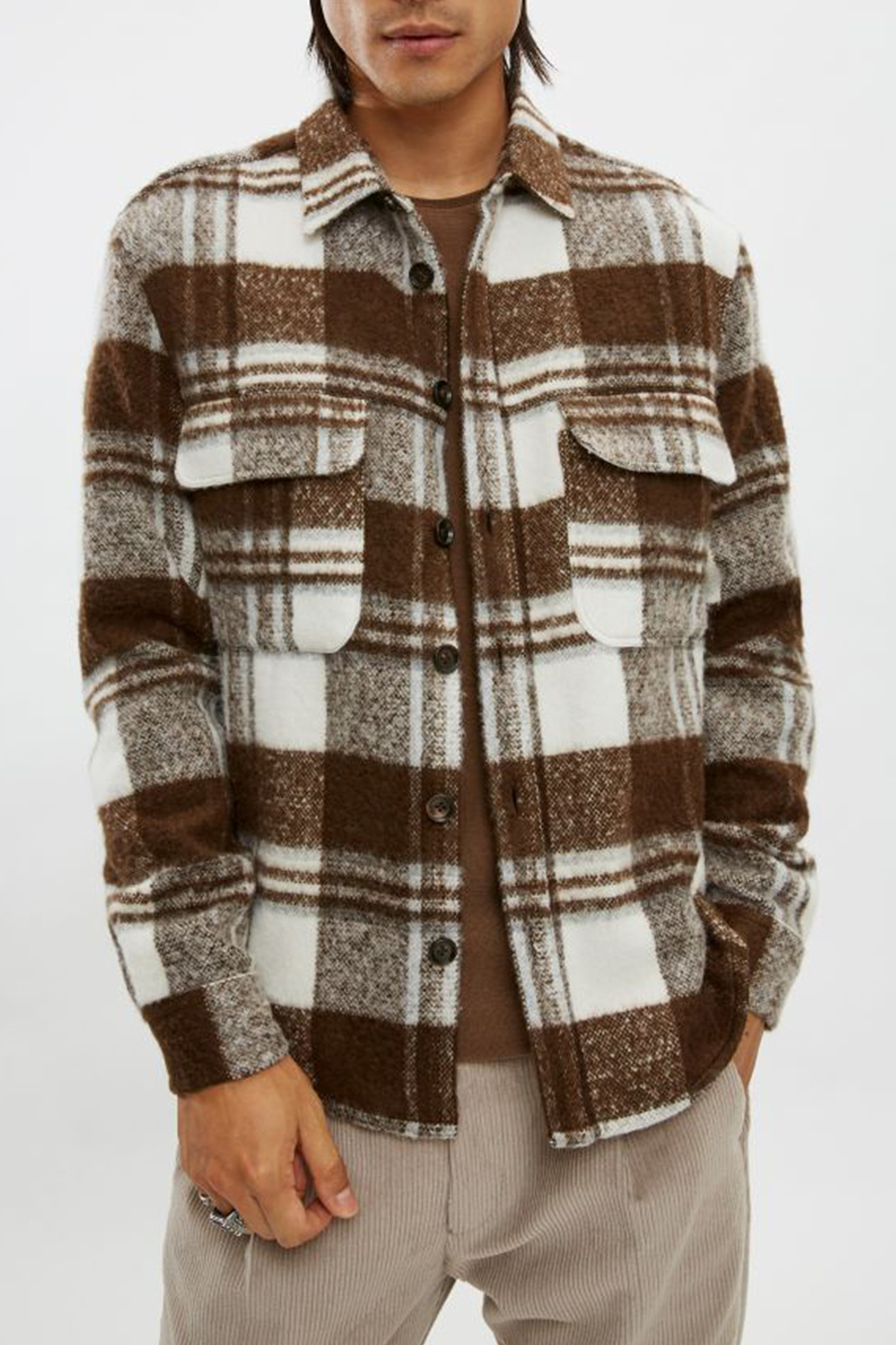 Seled - Off-White/Brown-1