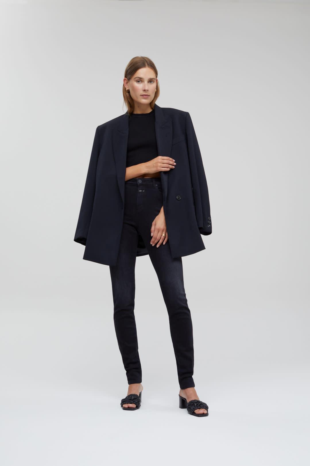 Lizzy Stretch Jeans - Black-2