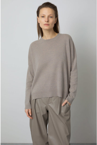 Cashmere Sweater - Muddy Beige