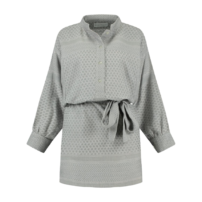 Leila K Dress - Grey-2