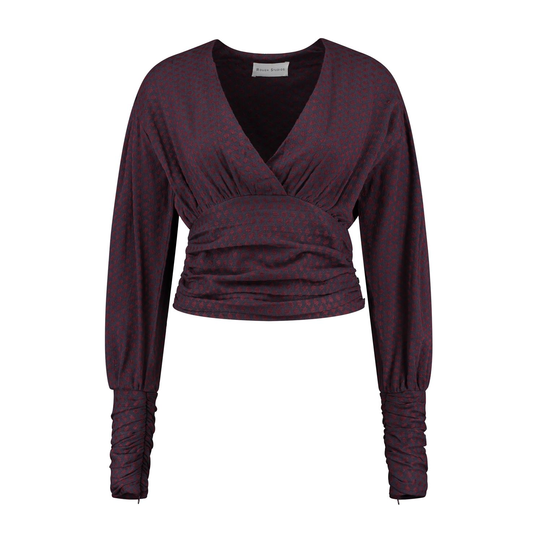 Nanala Top - Red/Purple-2