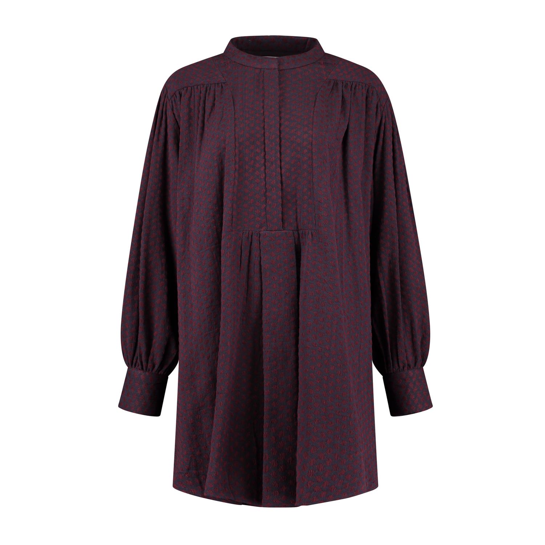 Prunella Dress - Red/Purple-2