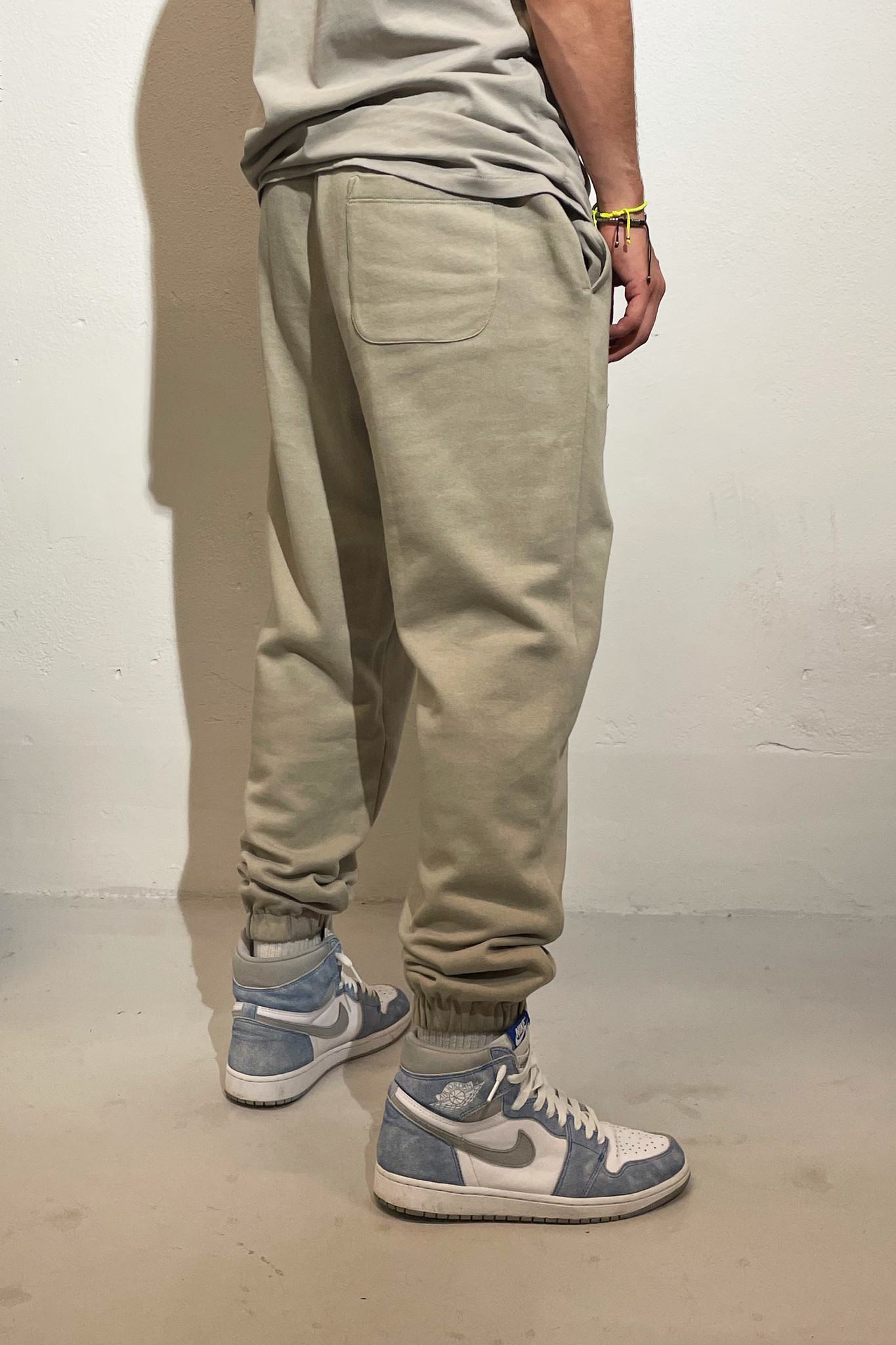 Sweatpants Quote and Logo - Warm Grey-2