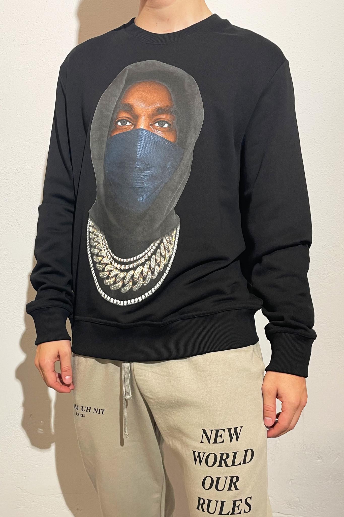 Mask Sweater - Black-1