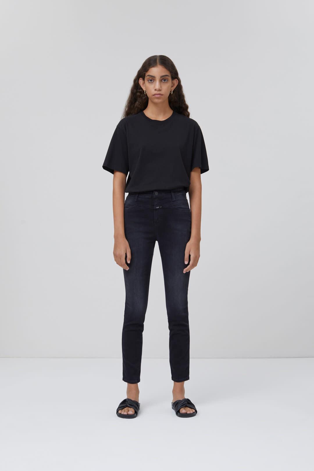 Skinny Pusher Jeans - Dark Grey-1