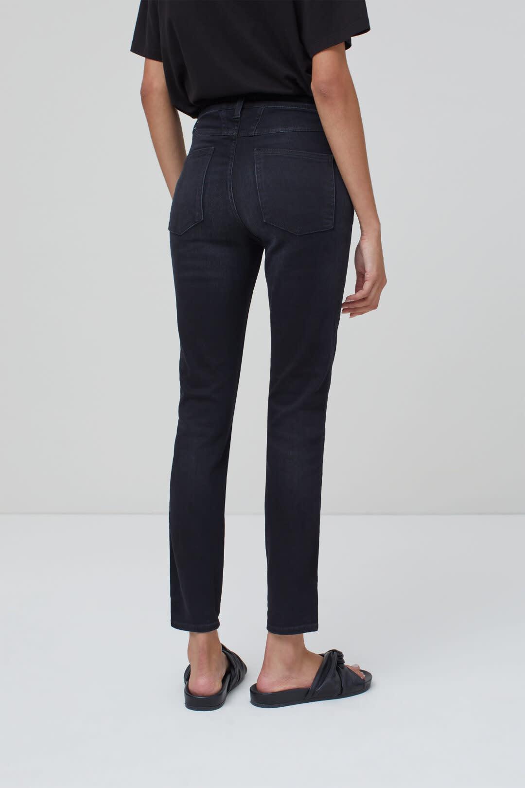 Skinny Pusher Jeans - Dark Grey-2