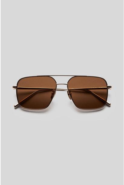 Aviator - Brown/Gold