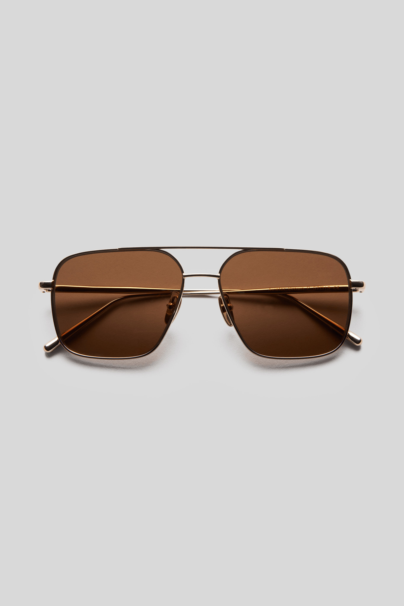 Aviator - Brown/Gold-1