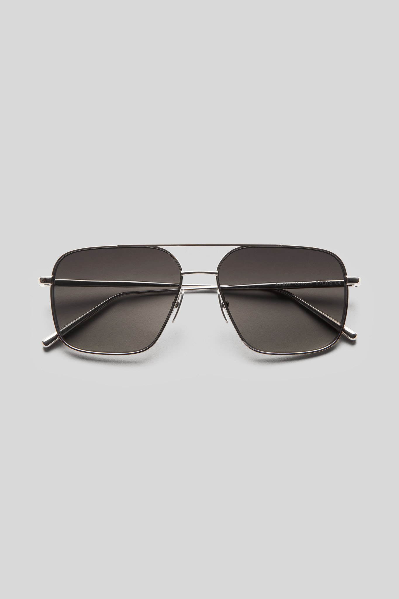 Aviator - Grey/Silver-1