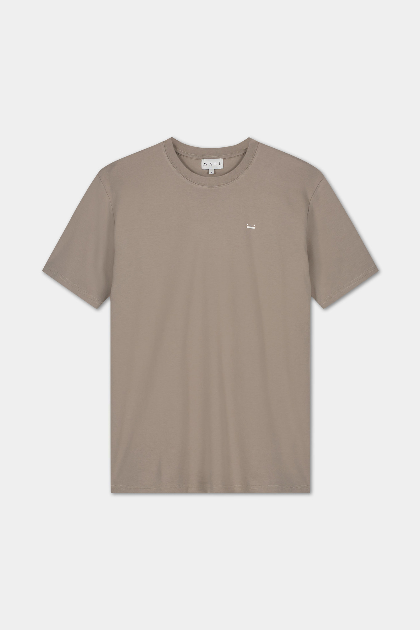 T-shirt Embroidered Logo - Grey-2