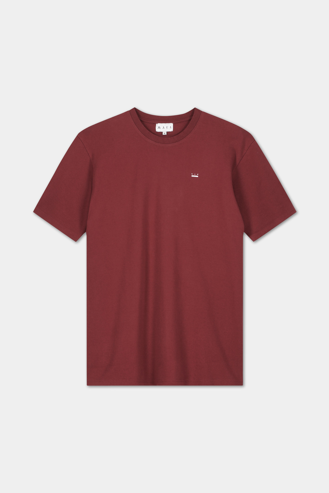 T-shirt Embroidered Logo - Bordeaux-2