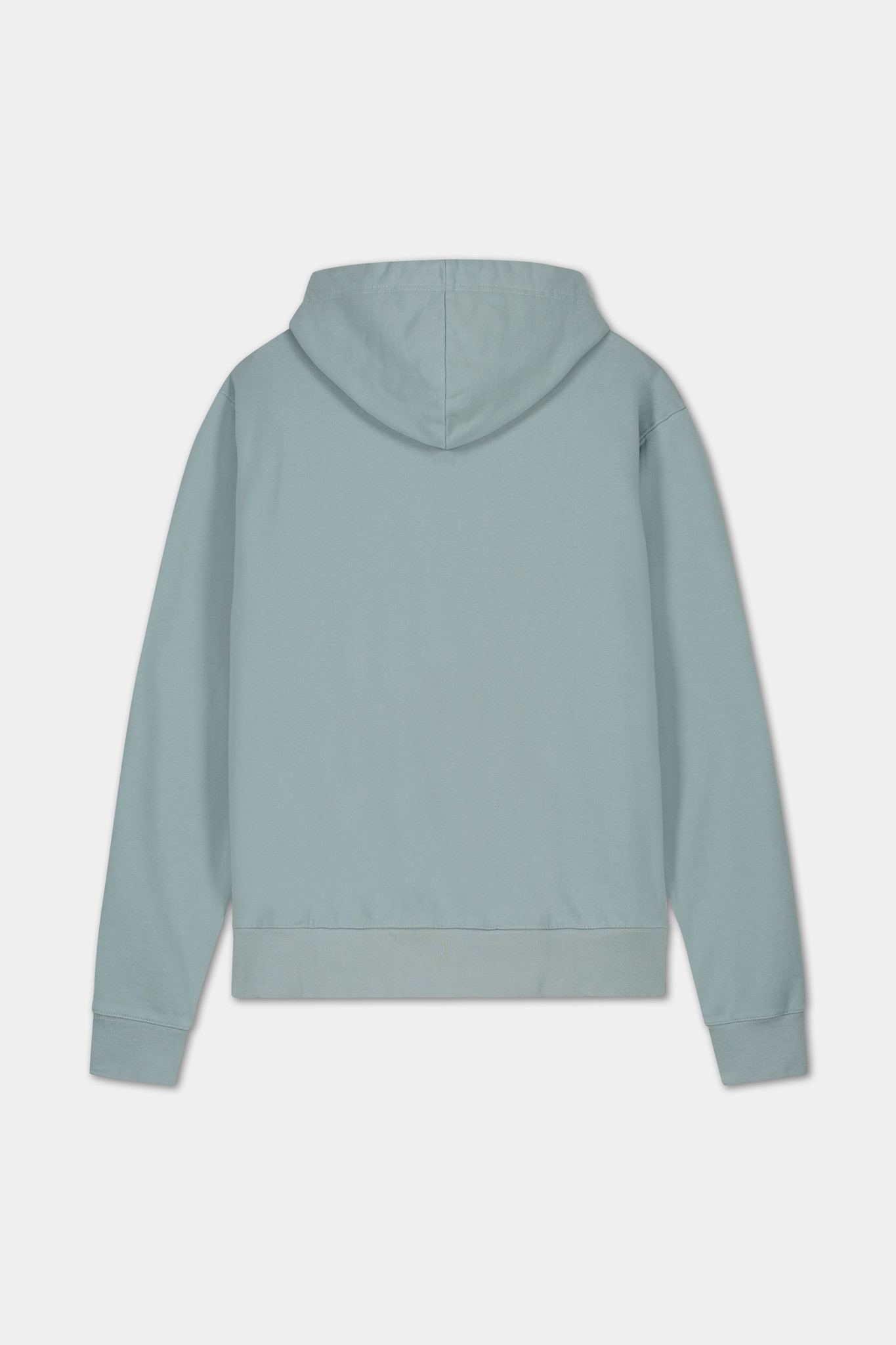 Hoodie Embroidered Logo - Blue-2