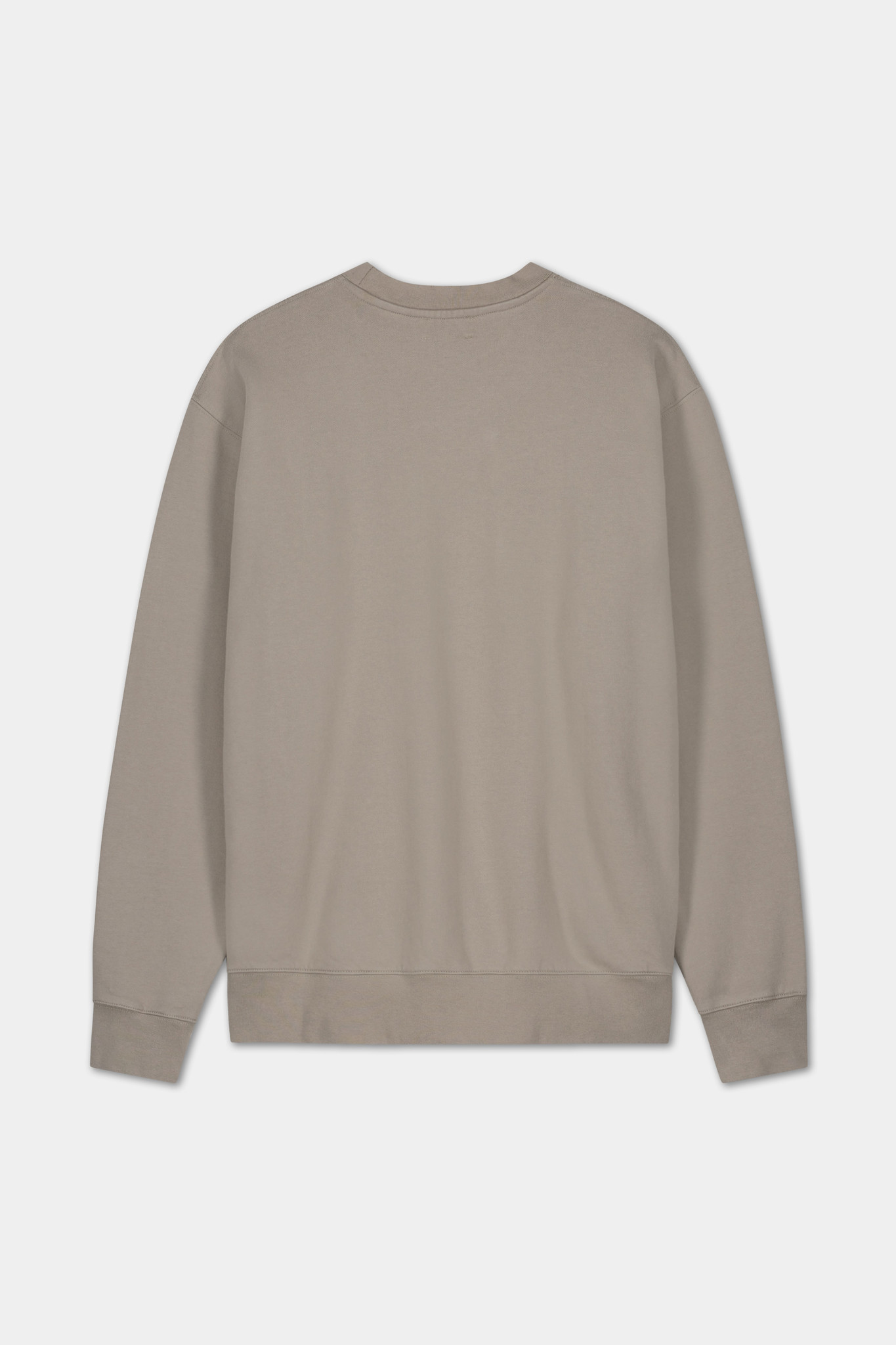 Sweater Embroidered Logo - Grey-2