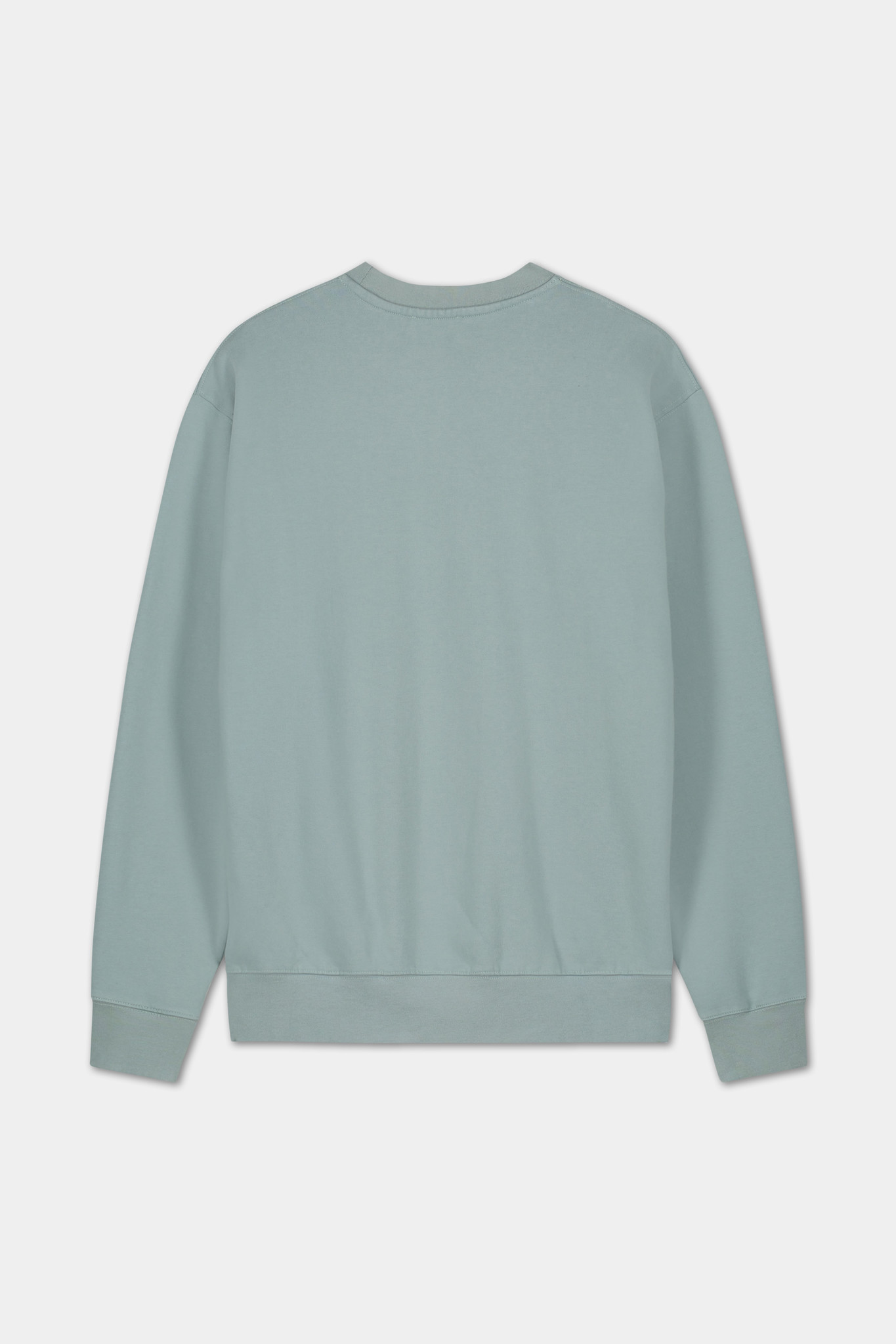 Sweater Embroidered Logo - Blue-2