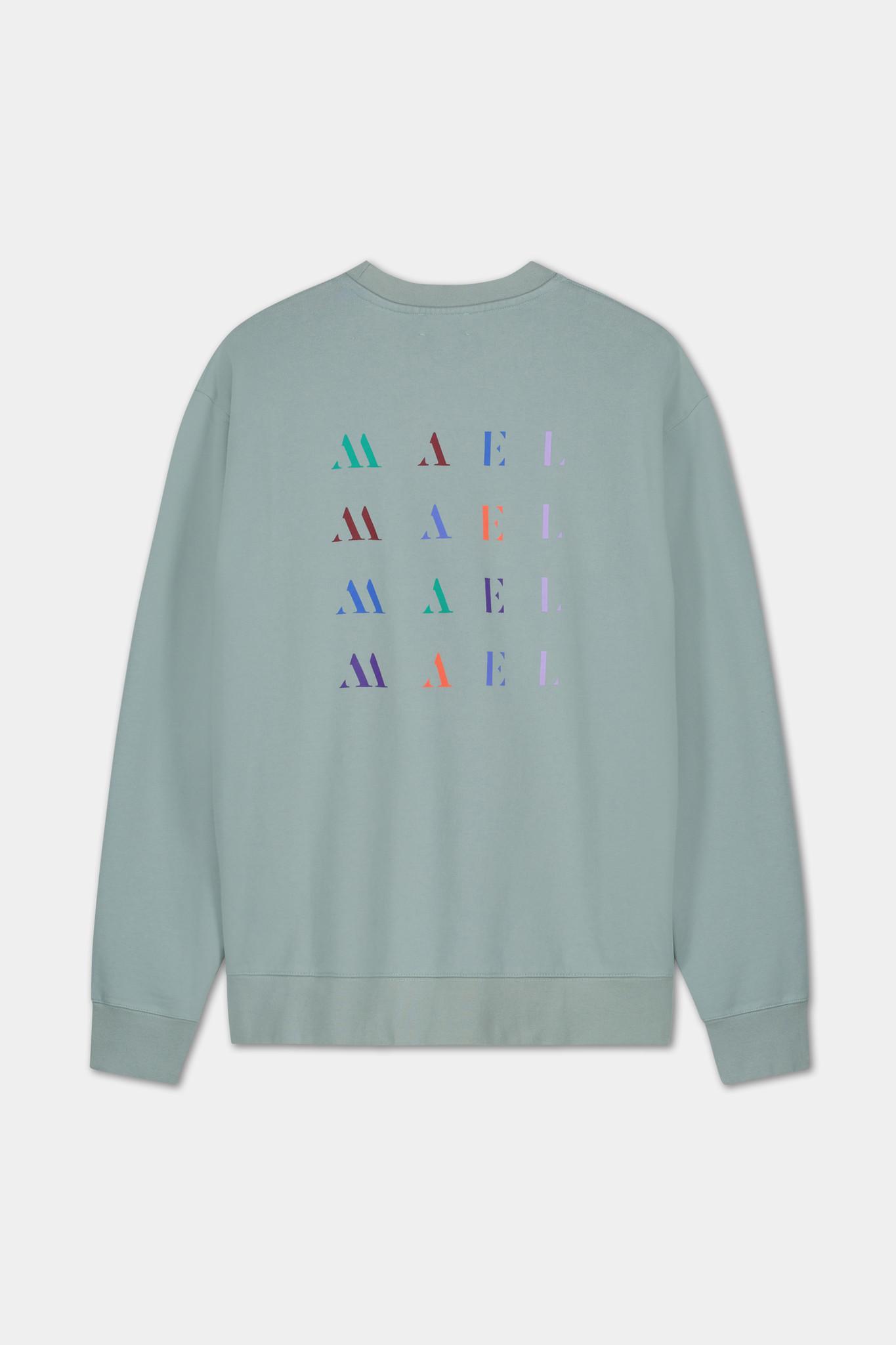 Backprint Sweater - Blue-2