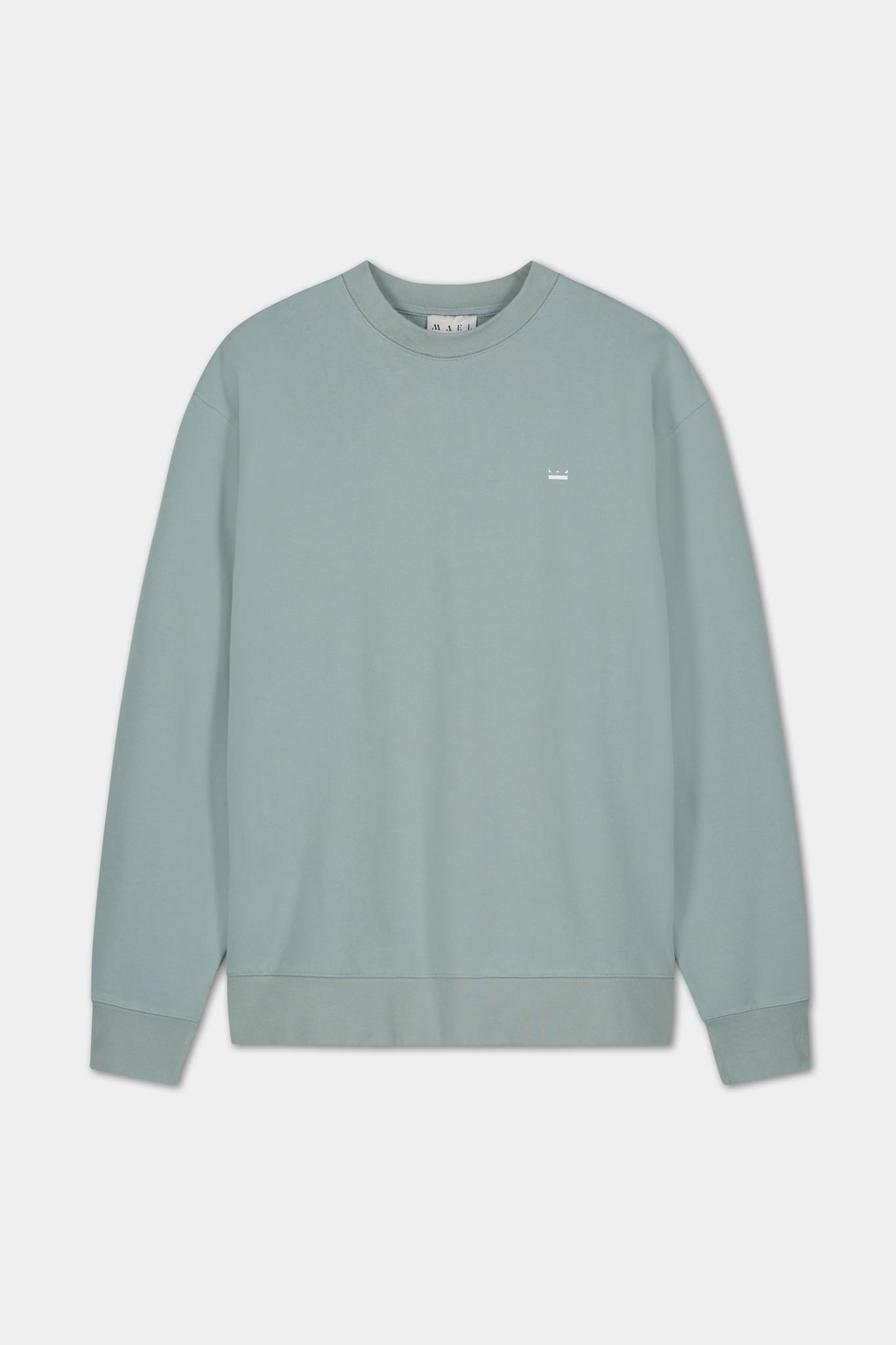 Backprint Sweater - Blue-1