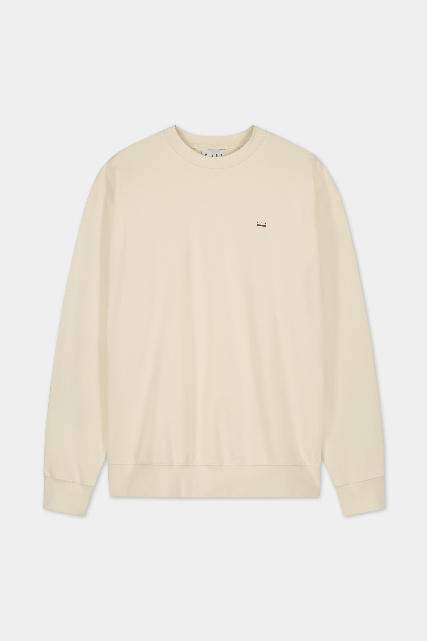 Backprint Sweater -  Off-White-1