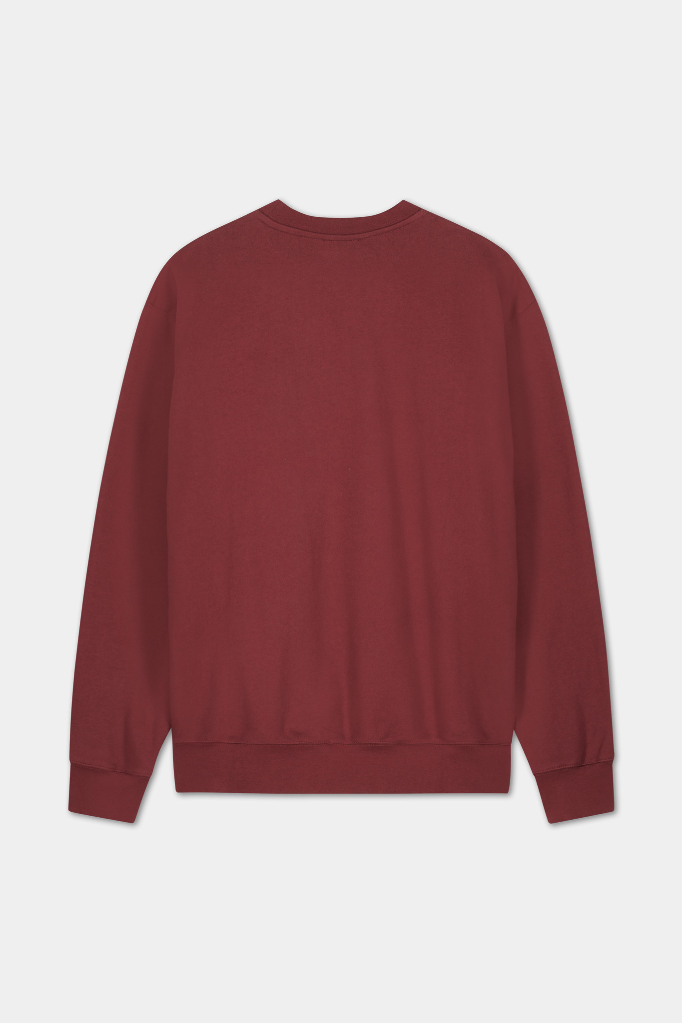 Sweater Embroidered Logo - Bordeaux-2