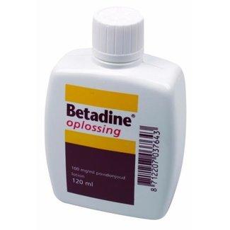 Huismerk Betadine Jodium Oplossing 120ml