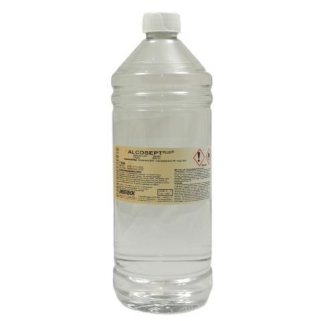 Degros Alcohol 80 procent 1ltr (alcosept)