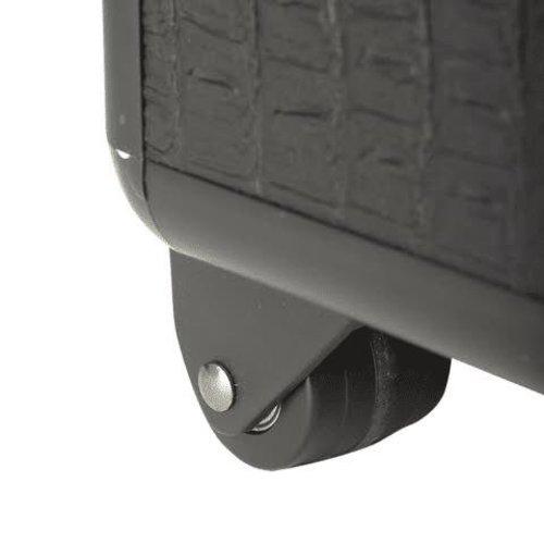Sinelco Croco aluminium koffer met 3 opbergniveaus 63X36X22CM SIBEL
