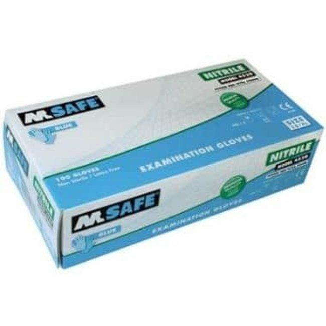 M-Safe M-Safe 4530 disposable nitril handschoen 10/XL