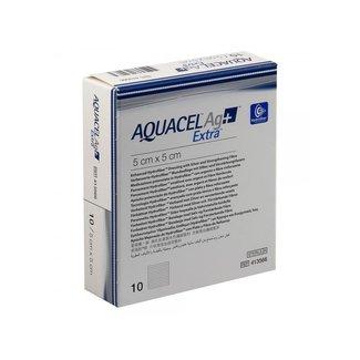 Aquacel Aquacel AG+ Extra Hydrofiber wondverband steriel 5x5cm