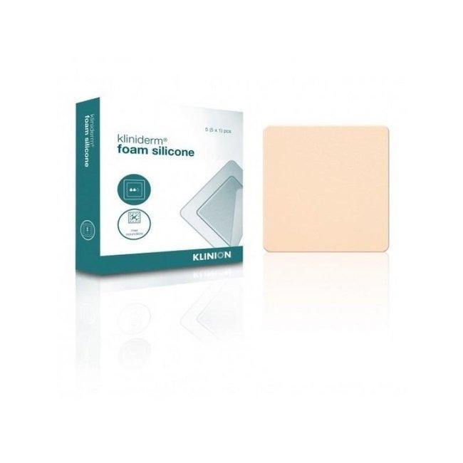 Klinion Kliniderm Foam Silicone schuimverband 10x10cm