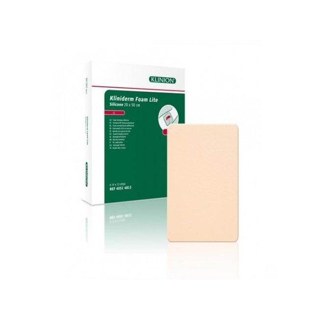 Klinion Kliniderm Foam Silicone Lite schuimverband 20x50cm