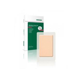 Klinion Kliniderm Foam Silicone Lite schuimverband met Border 5x12,5cm