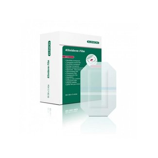 Klinion Kliniderm Film wondfolie bulk 4x5cm