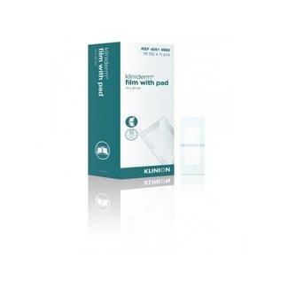 Klinion Klinion Kliniderm Film met Pad wondpleister steriel 10x30cm