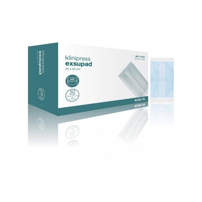 Klinion Klinion Exsupad zwaar absorberend wondverband steriel 20x30cm (10 stuks)
