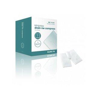 Klinion Klinion drainkompres splitkompres NW steriel 4-laags 10x10cm
