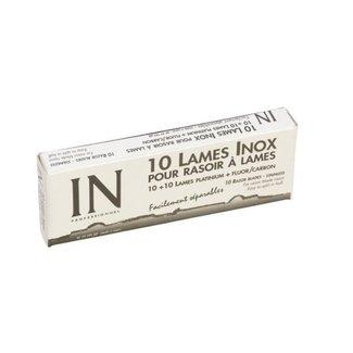 Sinelco 10 vervangmesjes voor scheermes in double