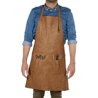 Sinelco Mascul pu leather apron barburys