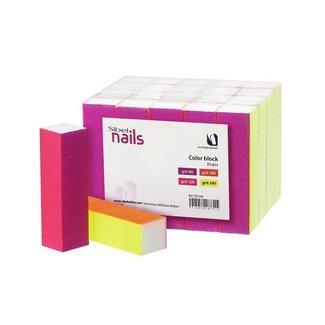 Sinelco Color bloc 4 faces 20pcs 80/120/180/240 grit