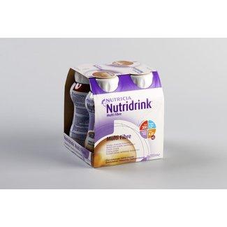 Nutricia Nutricia nutridrink multi fibre dieetvoeding 200ml chocola 65423