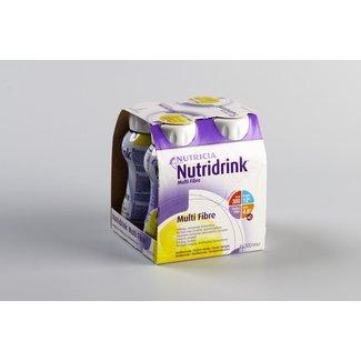 Nutricia Nutricia nutridrink multi fibre dieetvoeding 200ml vanille 65284